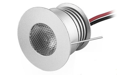 IP44 3W Dimmable LEDは引込められた導かれたキャビネット ライト250LM DC12-24Vをつけます